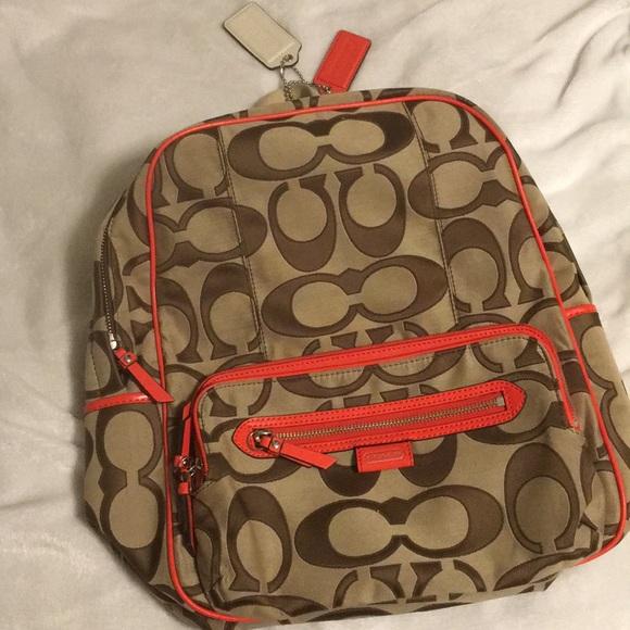 48e6dd94a2f5 Coach Handbags -  PRICE FIRM  Coach Backpack